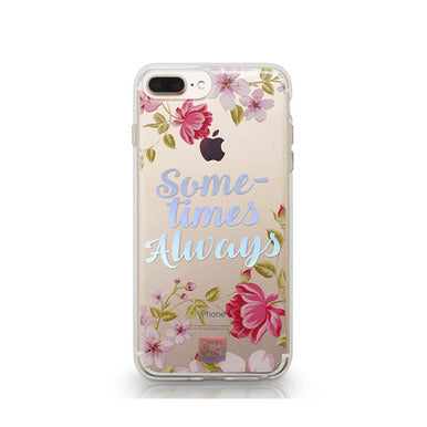 CaseStudi Prism Collection: Cherry Sometimes Always Phone Case for iPhone 7 & 7 Plus
