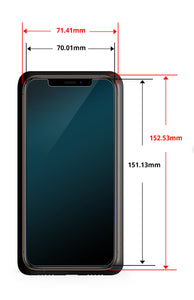 iPhone XS Max Dome Glass Tempered Glass Screen Protector