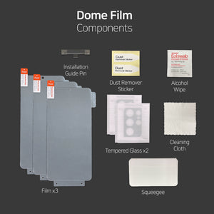 [Dome Premium Film] Galaxy S21 Ultra EPU Film Screen Protector with Glass Camera Protector - 5PACK