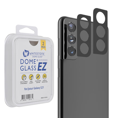 Whitestone EZ S21 Camera Screen Tempered Glass Protector - 2 Pack