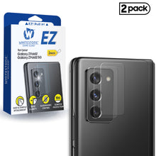 Load image into Gallery viewer, Whitestone EZ Galaxy Z Fold2 Camera Screen Tempered Glass Protector - 2 Pack