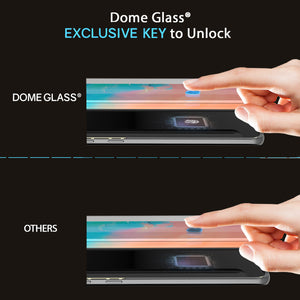 Galaxy S10e Dome Glass Tempered Glass Screen Protector