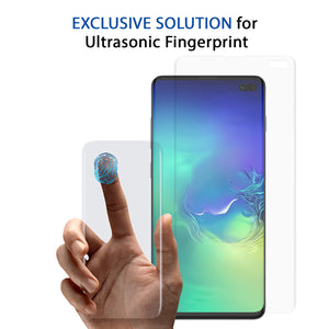 Galaxy S10 Plus Dome Glass Tempered Glass Screen Protector
