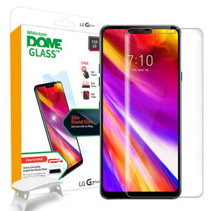 LG G7 Dome Glass Tempered Glass Screen Protector