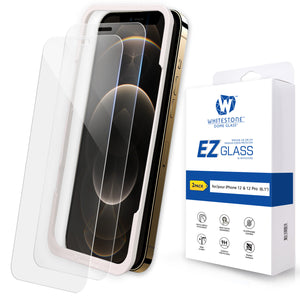 "iPhone 12 & 12 Pro EZ Tempered Glass Screen Protector - 2 Pack (6.1"")"
