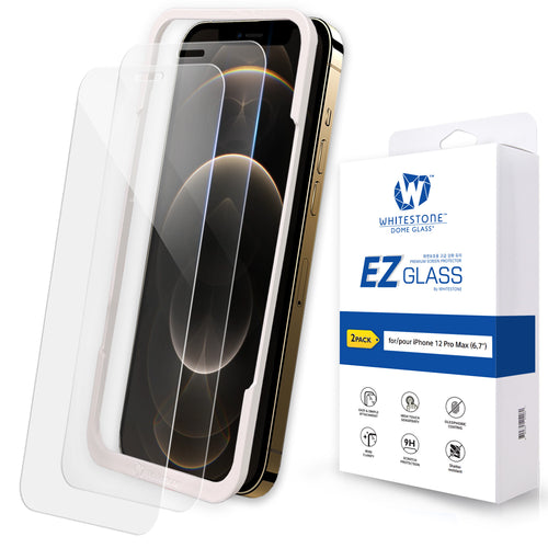 iPhone 12 Pro Max EZ Tempered Glass Screen Protector - 2 Pack (6.7