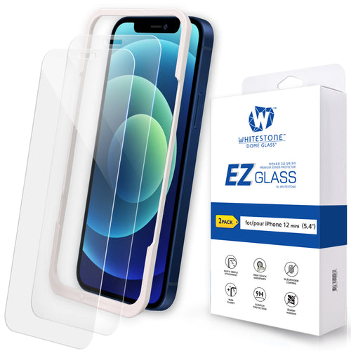 iPhone 12 mini EZ Tempered Glass Screen Protector - 2 Pack (5.4