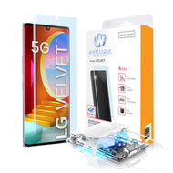 LG Velvet Dome Glass Tempered Glass Screen Protector