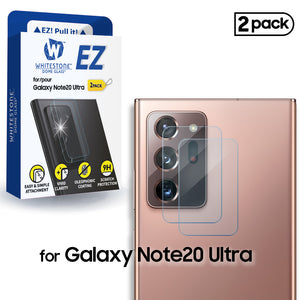 Whitestone EZ Note 20 Ultra Camera Screen Tempered Glass Protector - 2 Pack