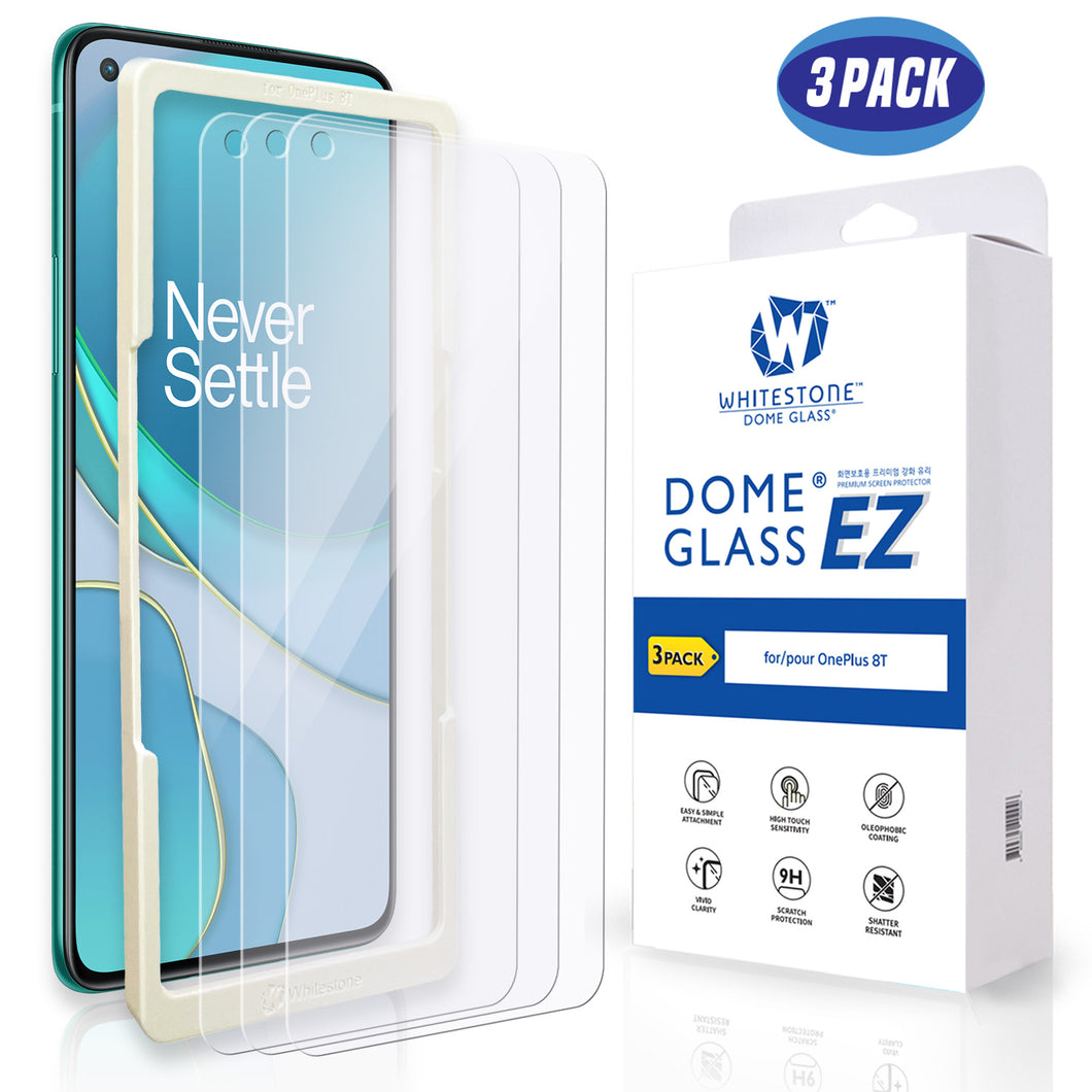 Oneplus 8T EZ Tempered Glass Screen Protector - 3 Pack