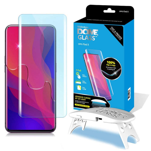 Oppo Find X Dome Glass Tempered Glass Screen Protector