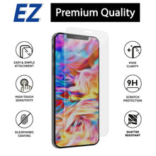 "Load image into Gallery viewer, iPhone 12 & 12 Pro EZ Tempered Glass Screen Protector - 2 Pack (6.1"")"