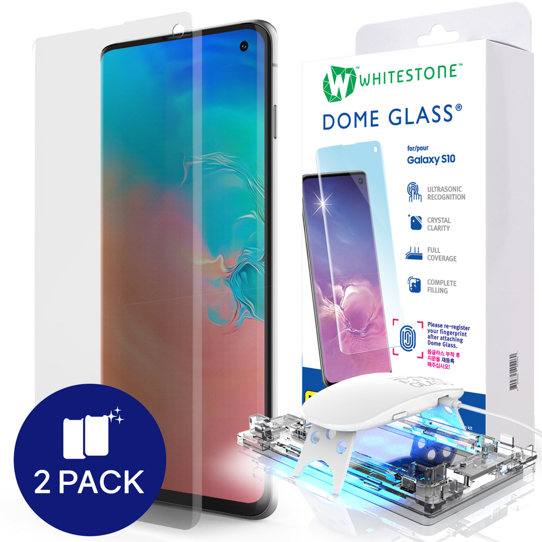 Galaxy S10 Dome Glass Tempered Glass Screen Protector