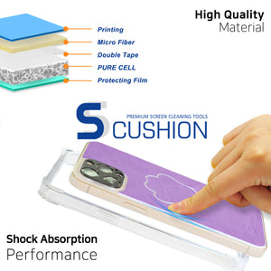 [S-cushion + TPU Case] Phone Skin & Case for iPhone 12 & 12 Pro, Premium Cushioning Skin with 5 Colors by Whitestone