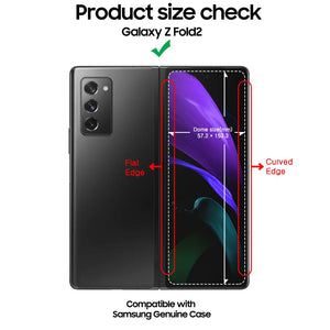 Galaxy Z Fold2 Dome Glass Tempered Glass Screen Protector