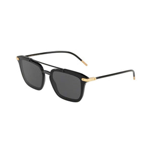 Dolce and Gabbana DG4327 black men's designer sunglasses