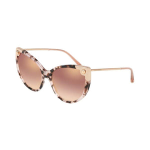 Dolce and Gabbana DG4337 pink havana women's designer sunglasses