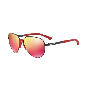 Emporio Armani EA2059 red mens designer sunglasses