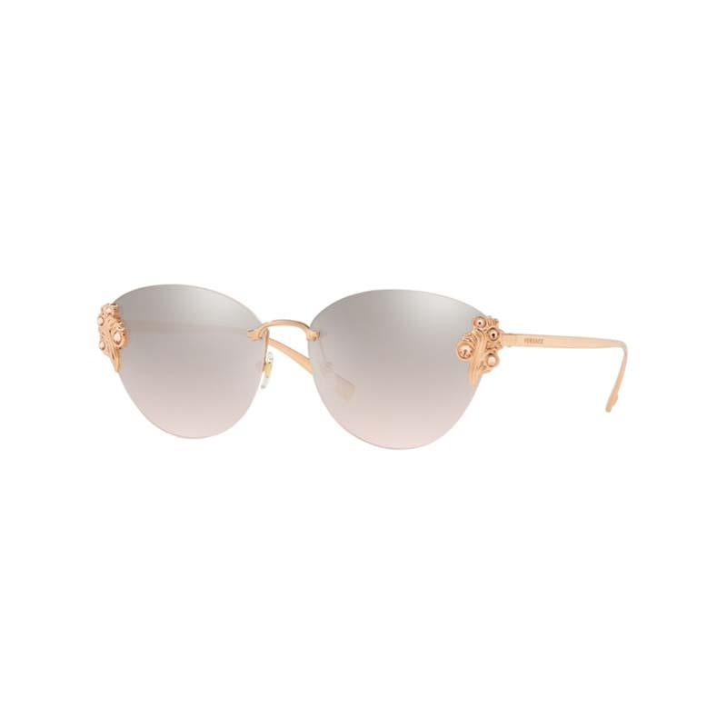 Versace VE2196B Rose Gold Women's designer sunglasses