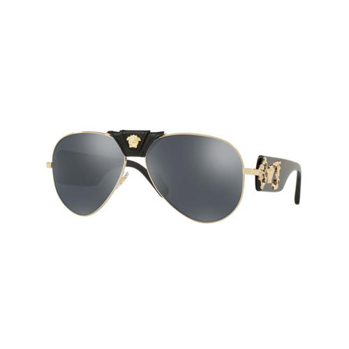 Versace VE2150Q Pale Gold Men's designer sunglasses