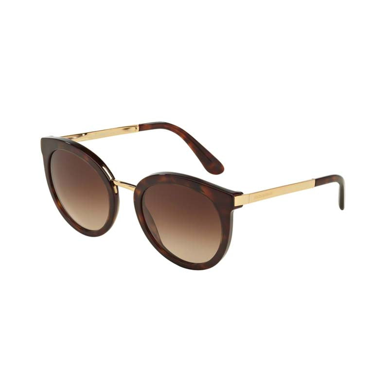 Dolce and Gabbana DG4268 Havana Womens designer sunglasses