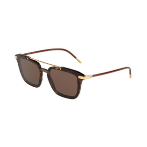 Dolce and Gabbana DG4327 Havana men's designer sunglasses