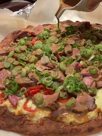 keto duck pizza