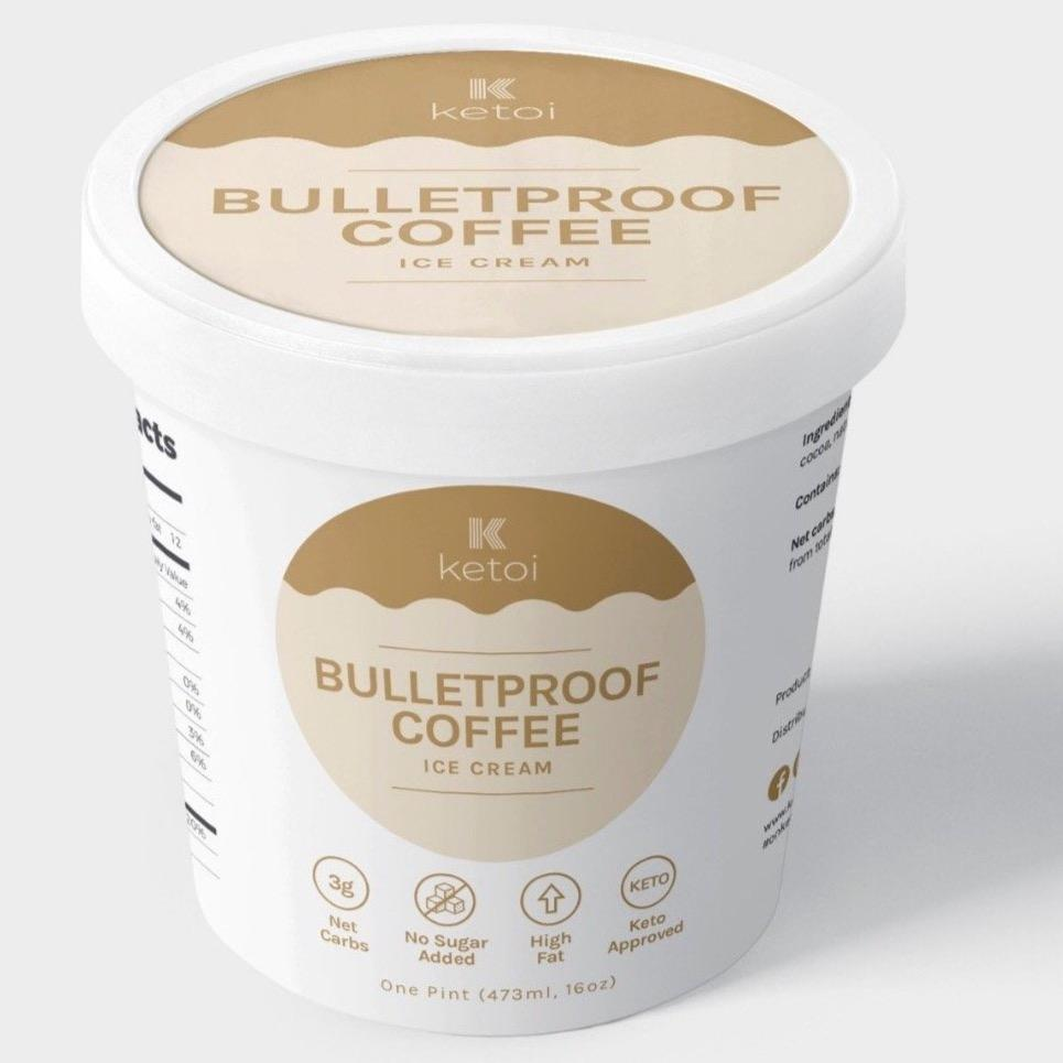 Ketoi Keto Bulletproof Coffee Ice Cream