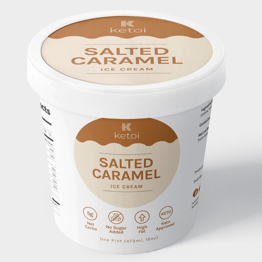 Ketoi Keto Salted Caramel Ice Cream