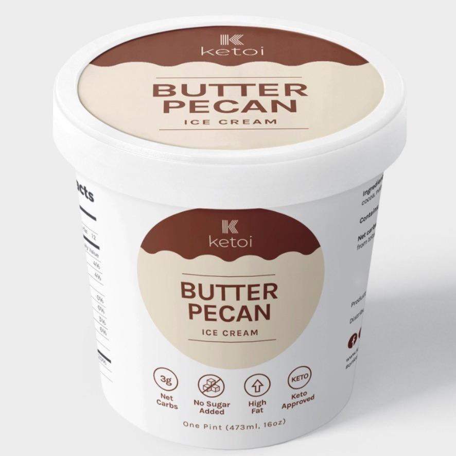Ketoi Keto Butter Pecan Ice Cream