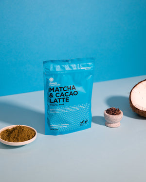 Jomeis Fine Foods - Matcha + Cacao Latte 100g