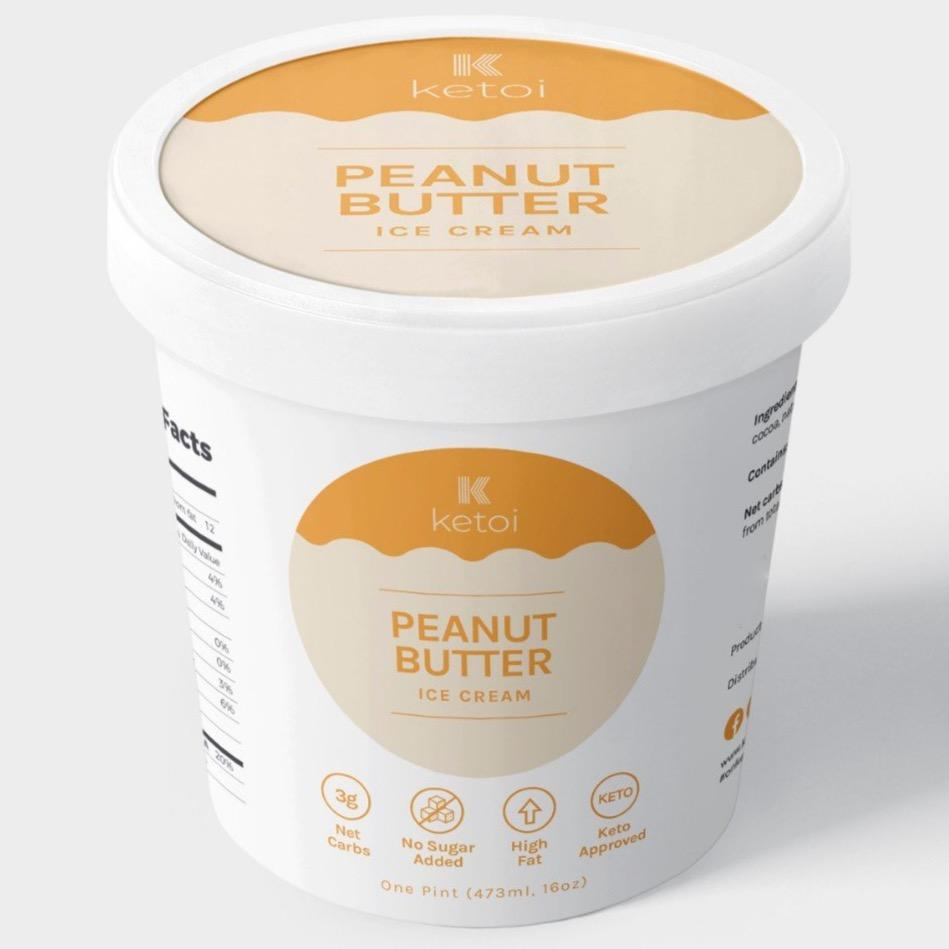 Ketoi Keto Peanut Butter Ice Cream