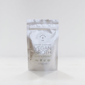 Broth & Co - Vegan Vitality Broth Powder with Chickpea Miso & Super Mushrooms
