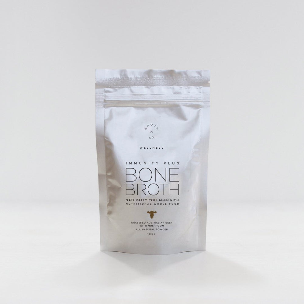 Broth & Co - Mushroom & Beef Bone Broth Powder 100g