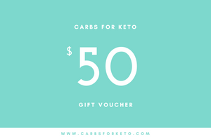 Carbs for Keto Gift Voucher