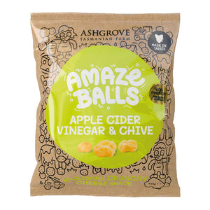 Ashgrove Cheese Amazeballs - Apple Cider Vinegar & Chives 40g