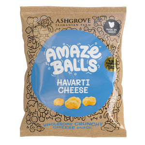 Ashgrove Cheese AmazeBalls - Havarti Cheese 50g