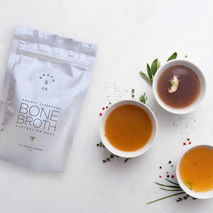 "Broth & Co - ""Naked"" Beef Bone Broth Powder 100g"