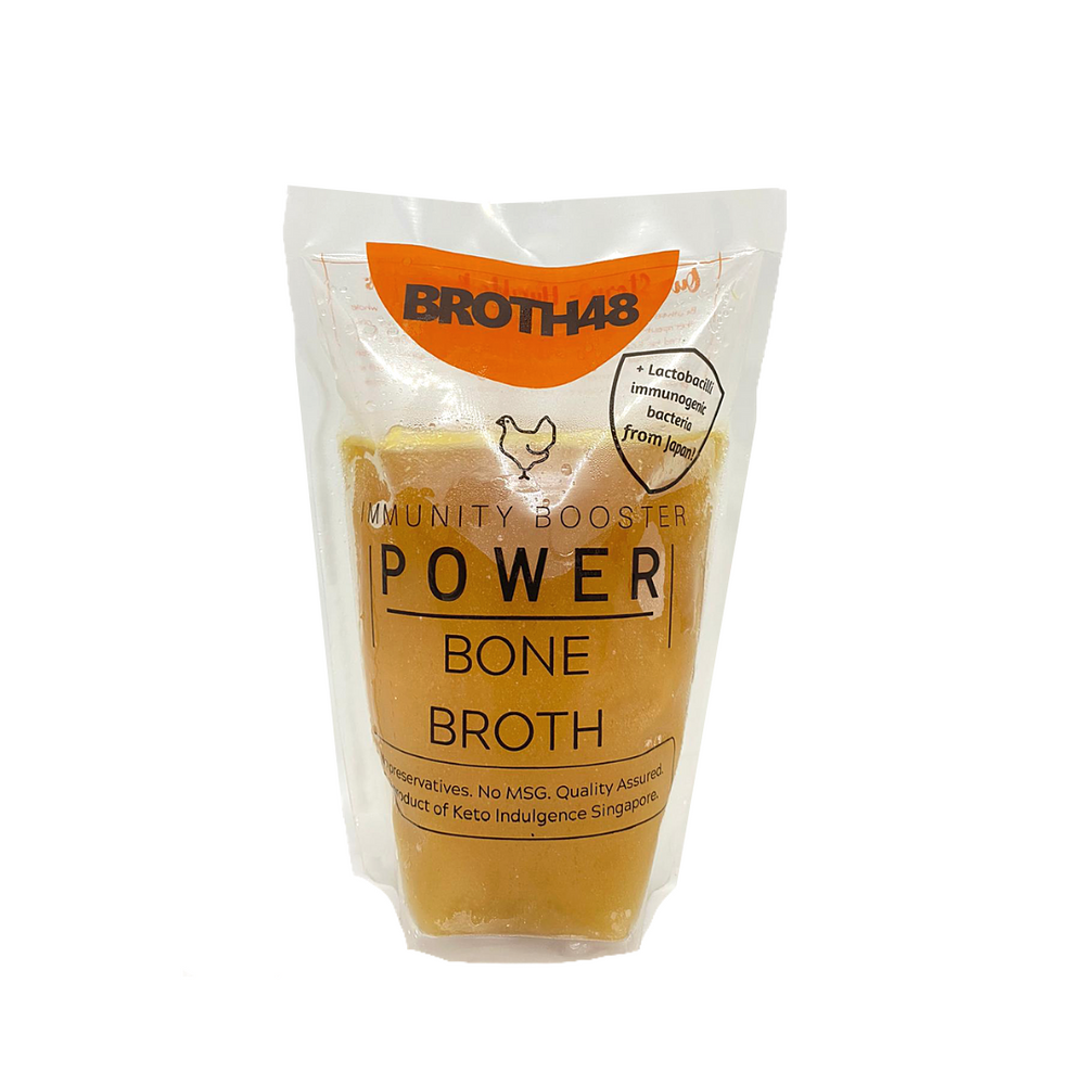 Broth48 Chicken Bone Broth 500ml (Frozen)