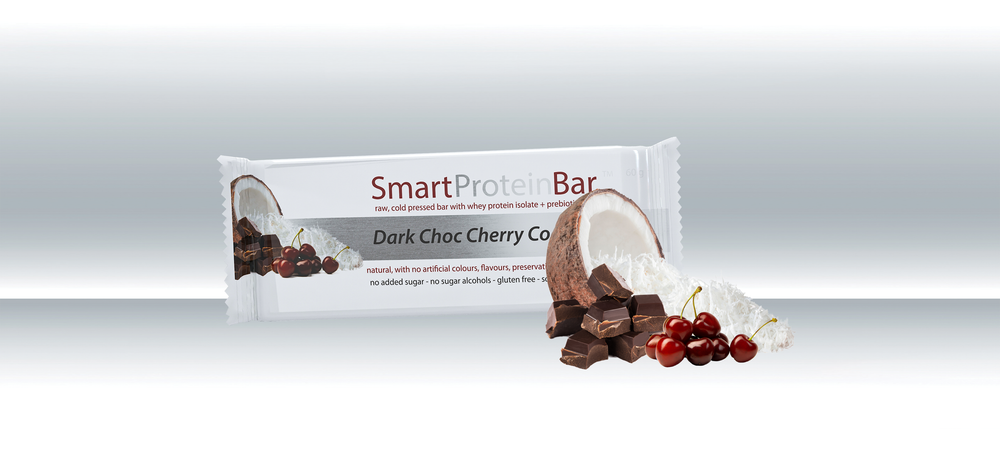 Smart Protein Bar - Dark Choc Cherry Coconut