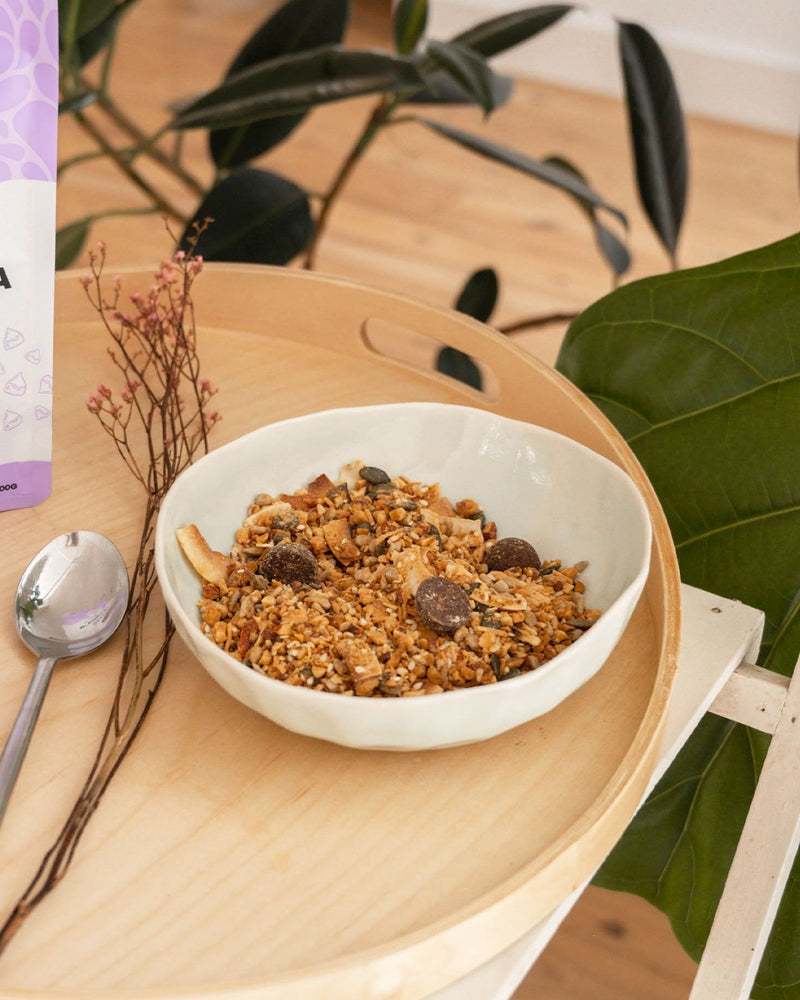 The Monday Food Co. Keto Granola - Peanut Butter Choc Chip 300g