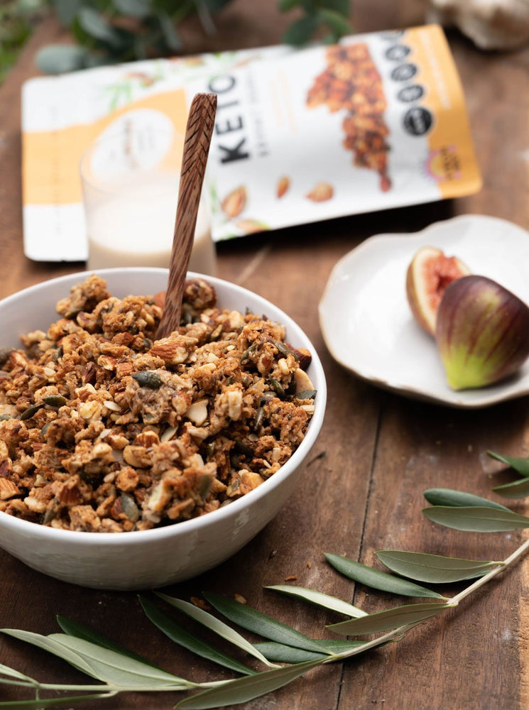 The Monday Food Co. Keto Granola - Crunchy Roast Almond & Cardamom 300g