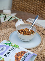 The Monday Food Co. Keto Granola - Sweet Crunchy Macadamia Clusters 300g