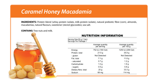 Smart Protein Bar - Caramel Honey Macadamia