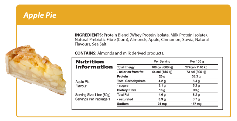 Smart Protein Bar - Apple Pie