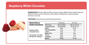 Smart Protein Bar - Raspberry and White Chocolate