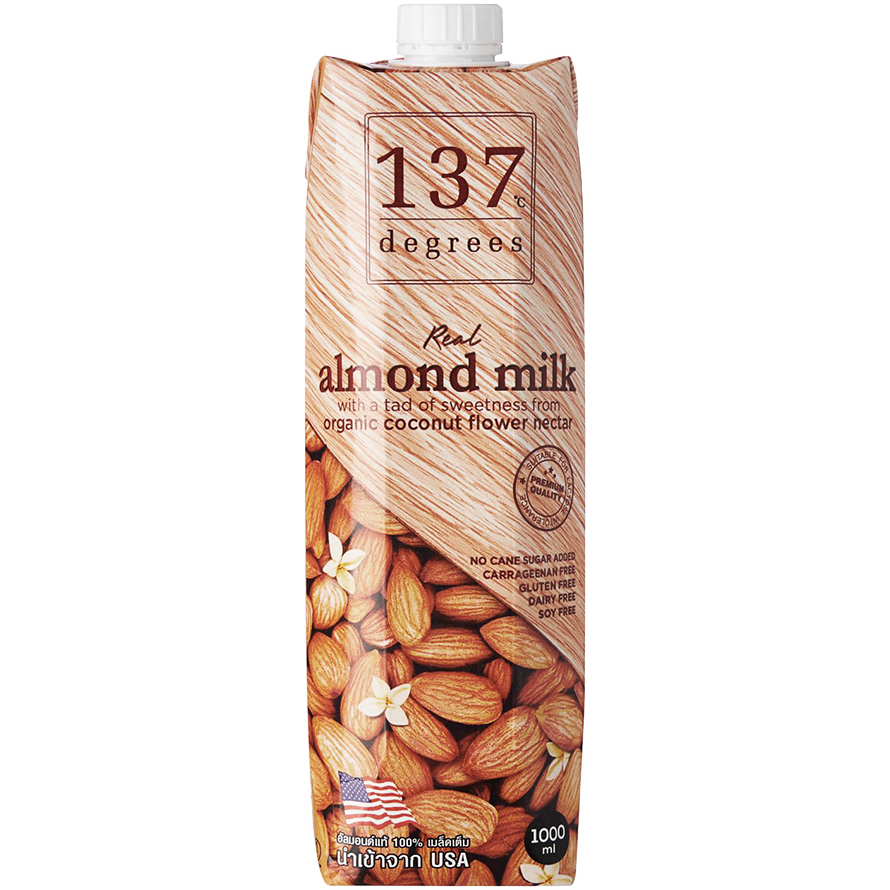 137 Degrees - Almond Milk Original 1L