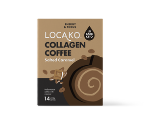 Locako Salted Caramel Collagen Coffee