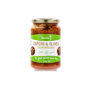 Slendier Keto Pasta Sauce - Capers and Olives - 340g