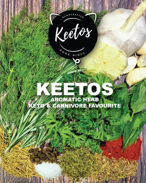 Keetos Natural Pork Rinds - Aromatic Herb 50g